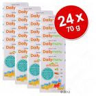 Lot de sachets fraîcheur Almo Nature Daily Menu 24 x 70 g
