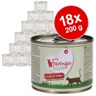 Lot Feringa Menus Duo 18 x 200 g pour chat