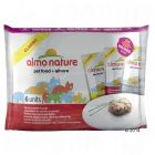 Lot mixte Almo Nature Classic 6 x 55 g pour chat