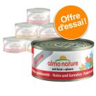 Lot mixte Almo Nature Legend 6 x 70 g pour chat