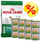 Lot mixte Royal Canin Mini