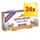 Lot 4 saveurs Almo Nature Daily Menu 24 x 170 g