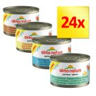 Lot 4 saveurs Almo Nature Light 24 x 50 g