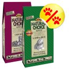 Lot 2 saveurs Nutro Natural Choice 2 x 12 kg