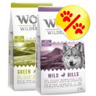 Lot 2 saveurs Wolf of Wilderness 2 x 12 kg