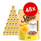 Lot Sheba Duo 48 x 85 g pour chat