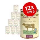 Lot Terra Canis Metzgers Bestes 12 x 400 g pour chien