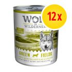 Lot Wolf of Wilderness Adulte 12 x 800 g