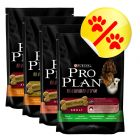 Lote 4 sabores Pro Plan 4 x 400 g