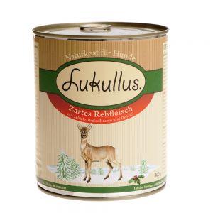 Lukullus Winter-Menü: Zartes Rehfleisch