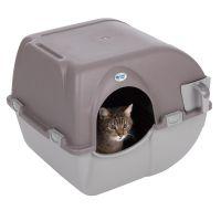 roll n clean omega paw maison de toilette pour chat zooplus