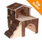 Cabane en bois pour cochon d inde