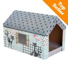 maisonnette pour chat prix avantageux chez zooplus. Black Bedroom Furniture Sets. Home Design Ideas