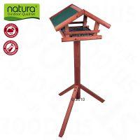 mangeoire ext rieure sur pied pour oiseaux natura zooplus. Black Bedroom Furniture Sets. Home Design Ideas