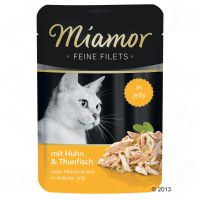 Miamor Feine Filets in gelatina 6 x 100 g