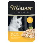 Miamor Feine Filets in Jelly, Huhn & Thunfisch