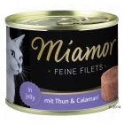 Miamor Feine Filets, Thunfisch & Calamari in Jelly