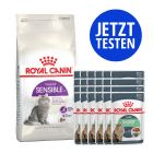 Mix-Paket Royal Canin 4 kg + 24 x 85 g Pouch in Soße