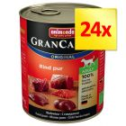 Mix-Sparpaket Animonda GranCarno Original Adult 24 x 800 g