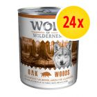 Mix-Sparpaket Wolf of Wilderness Adult 24 x 800 g