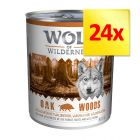 Mix-Sparpaket Wolf of Wilderness 24 x 800 g