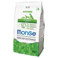 Monge Superpremium All Breeds Adult Coniglio, Riso e Patate