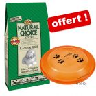 Nutro Choice 12 kg + frisbee pour chien Trixie Dog Activity