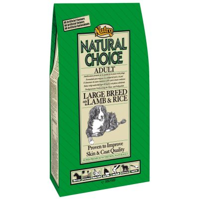 Nutro Natural Choice Adult razas grandes Cordero y arroz