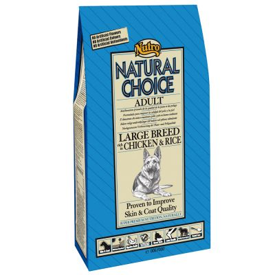 Nutro Natural Choice Adult razas grandes Pollo y arroz