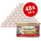 Pack % - Gourmet Gold Doble Placer 48 x 85 g
