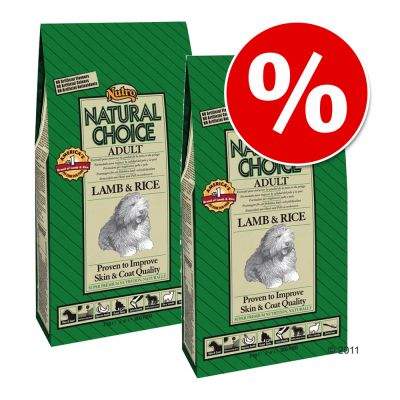 Pack Ahorro: Nutro Natural Choice 2 x 10/12/15 kg