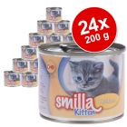 Pack Ahorro: Smilla Kitten 24 x 200 g