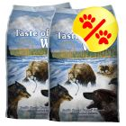 Pack ahorro: Taste of the Wild  2 x 6/13 kg