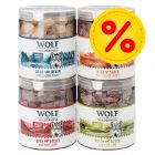 Pack Ahorro 4 x Wolf of Wilderness snacks liofilizados premium