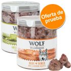 Pack de prueba mixto: Wolf of Wilderness snacks liofilizados premium