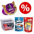 Pack de 4 snacks para gatos ¡en oferta!