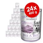 Pack económico: Little Wolf of Wilderness 24 x 400 g