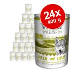 Pack económico: Wolf of Wilderness 24 x 400 g