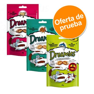 Pack mixto Catisfactions snacks para gatos 3 x 60 g