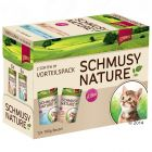 Pack mixto Schmusy Nature Kitten en sobres 12 x 100 g