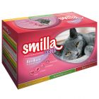 Pack mixto: Smilla Adult Sterilised en sobres