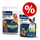 Pack mixto snacks Advance: Dental Care + Hypoallergenic