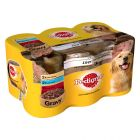 Pedigree Adult Cans in Gravy with Liver & Vitamins