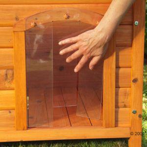 Porta basculante porta per cuccia universale 38 x h 55 cm - Entrare in una porta ...