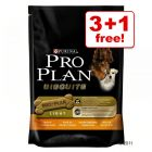 Pro Plan Dog Biscuits Light 3 + 1 Free!*