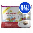 Probierpaket Almo Nature Classic Pouch, Huhn