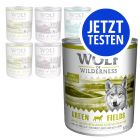 Probierpaket Wolf of Wilderness Adult 800 g