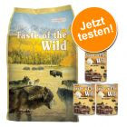 Probierset: 6 kg + 3 x 374g Taste of the Wild