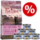 Probierset Kitten: Purizon 400 g  & Cosma Nature 6 x 70 g
