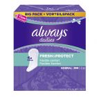 Protège-slips Always Dailies Fresh & Protect Normal